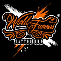 World Famous Tattoo Ink Single Colors