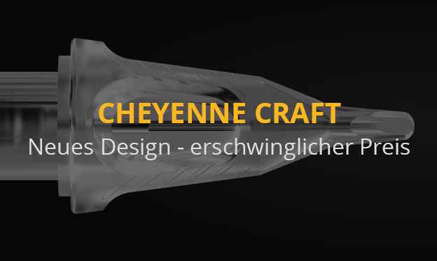 The new Cheyenne Craft Cartridges - New design to an affordable price