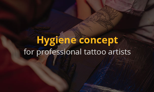 Hygiene concept for professional tattoo artists - How to keep your studio clean