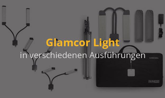 Glamcor Light - Tageslichtlampe - in verschiedenen Ausführungen und Zubehör