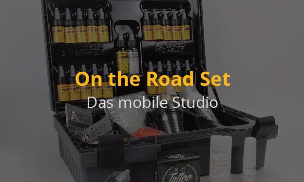 Das mobile Studio - Der Koffer on the Road Set 1 – Die Idee für jeden Tätowierer!