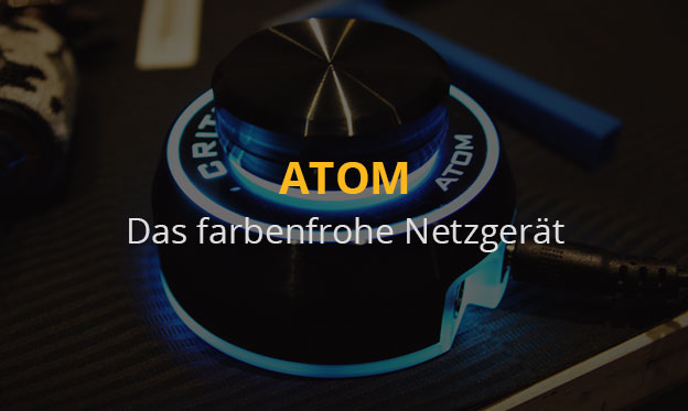 Das farbenfrohe ATOM-Netzgerät