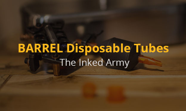 Inked Army BARREL Disposable Tubes – Load, Aim, Ink It Up!