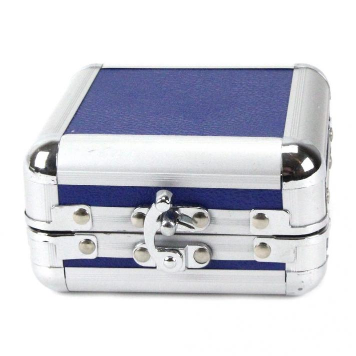 alu koffer f r maschinen blau 110 mm x 110 mm x 60 mm. Black Bedroom Furniture Sets. Home Design Ideas