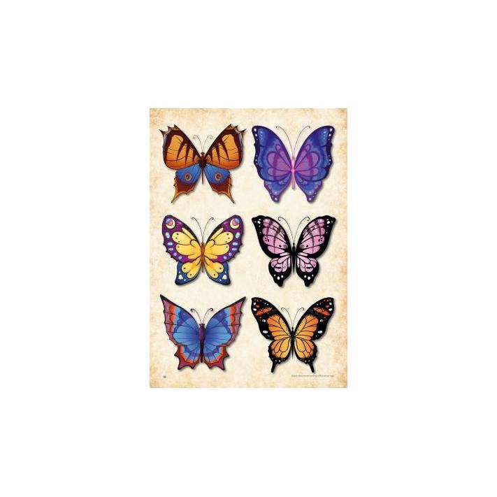 Schmetterlinge - Tattoo Vorlagen Buch, 29,90 €