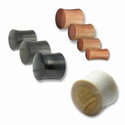 Plugs - Wood - verschiedene Designs