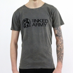 The Inked Army - Gents - T-Shirt - Graywashed