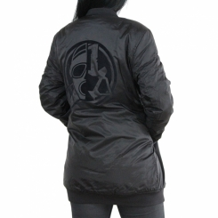 The Inked Army - Ladies - Long Bomber Jacket Schwarz L