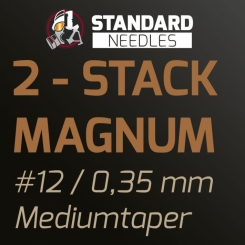 The Inked Army - Standard Nadeln - 2-Stack Magnum