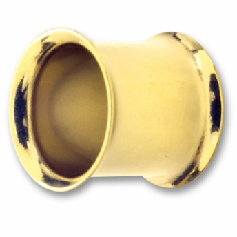 Double Flared Tunnel - PVD Gold