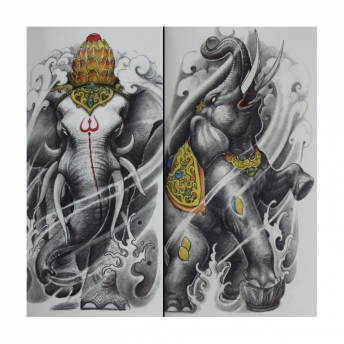 Beijing Wenjun Tattoo Flash Book