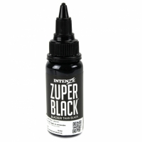 Intenze ink zuper black 12 50 for Zuper black tattoo ink intenze