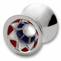 Red and White Star