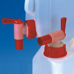 Screw cap with dispenser valve 2,5 liter