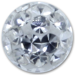 Jewelled disc for BCR - Basic Titan - With rhinestone -...