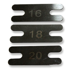 Machine Backsprings Carbon Stahl Nr. 20 - 0,48 mm stark x...