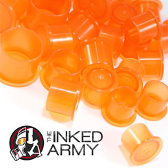 THE INKED ARMY - Farbkappen - Breiter Fußrand - Orange -...