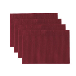 Workplace Cover - 500 pieces - Color Bordeaux