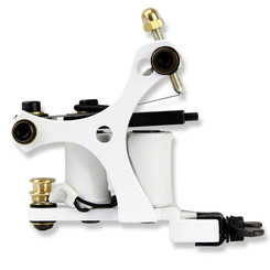 Pirat Tattoo Machines - Small Trinity Liner - Weiß