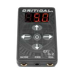 Critical Tattoo - CX1 Micro Digital Control Station -...
