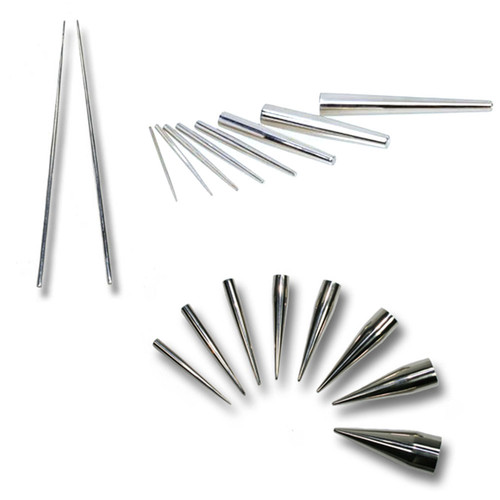 Single stretching pins - Stainless Steel 316 L
