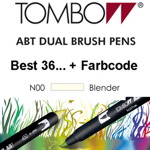 TOMBOW - ABT Dual Brush Pen - Blender