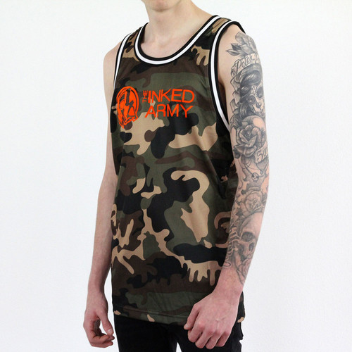 The Inked Army - Camo Baller Jersey