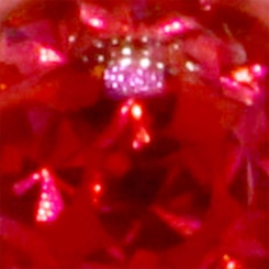 Banana - Crystal Nugget - 1,6 mm x 10 mm - Light Red