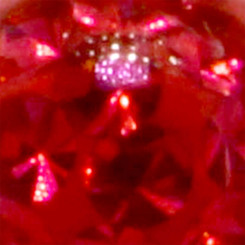 Banana - Crystal Nugget - 1,6 mm x 10 mm - Light Red - 2...