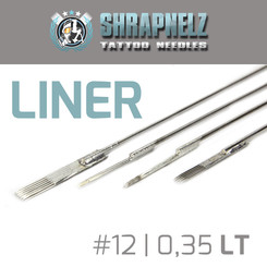 THE INKED ARMY - Shrapnelz Tattoo Needles - Liner 0,35