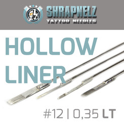 THE INKED ARMY - Shrapnelz Tattoo Nadeln - Hollow Liner