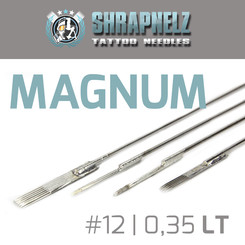 THE INKED ARMY - Shrapnelz Tattoo Needles - Magnum 0,35