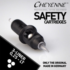 Cheyenne Safety Cartridges Liner 0,25 Größe 3
