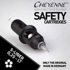 CHEYENNE - Safety Cartridges - 5 Liner - 0,25 - LT
