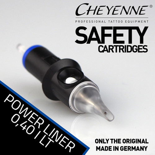CHEYENNE - Safety Cartridges - Power Liner - 0,40