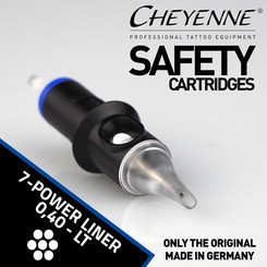 CHEYENNE - Safety Cartridges - 7 Power Liner - 0,40
