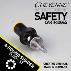 CHEYENNE - Safety Cartridges - 9 Round Shader - 0,30