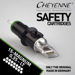 CHEYENNE - Safety Cartridges - 15 Magnum - 0,35