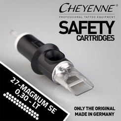 CHEYENNE - Safety Cartridges - 27 Magnum Soft Edge - 0,30
