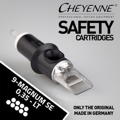 CHEYENNE - Safety Cartridges - 9 Magnum Soft Edge - 0,35