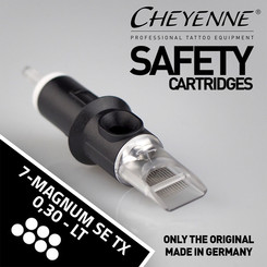 CHEYENNE - Safety Cartridges - 7 Magnum Soft Edge Bugpin...