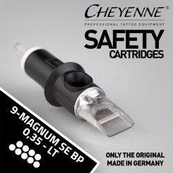 CHEYENNE - Safety Cartridges - 9 Magnum Soft Edge - TX -...