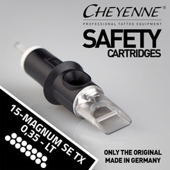 CHEYENNE - Safety Cartridges - 15 Magnum Soft Edge - TX -...