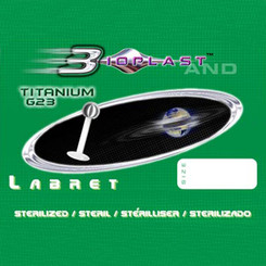 Bioplast Labret - Transparent with Titan Ball - sterile...