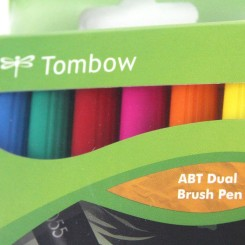 TOMBOW - ABT Dual Brush Pen - Dermatest - 6 Farbtöne