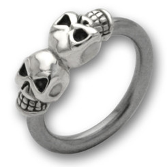 BCR - 316 L stainless steel - Different designs - Skull 1...