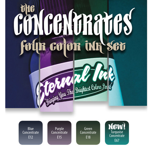 Eternal Ink Special Set - The Eternal Ink Concentrates - 4 Farbtöne