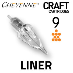 CHEYENNE - Craft Cartridges - 9 Liner - 0,30