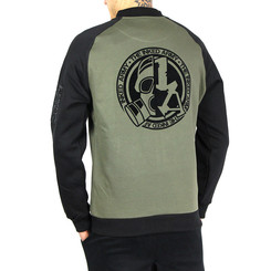 The Inked Army - Gents - 2-Tone Raglan Sweat Bomber -...