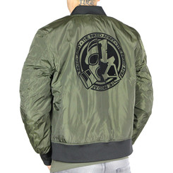 The Inked Army - Gents - 2-Tone Bomber Jacket -...
